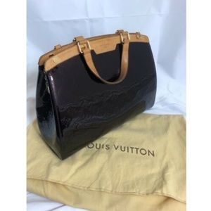 Louis Vuitton Womens Handbag Vernis Brea GM M91616